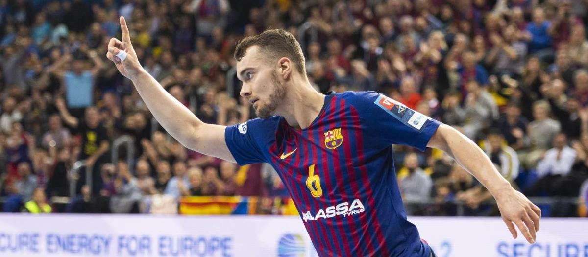 Mortensen, el millor del novembre a la Champions