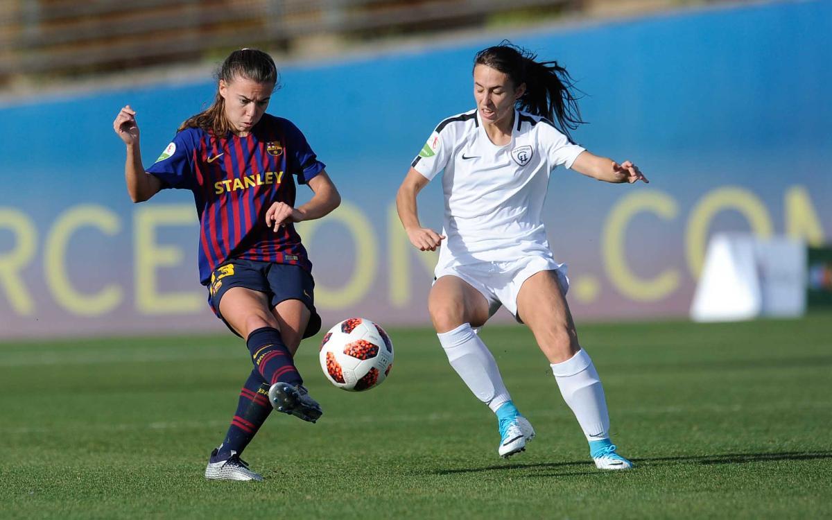 El Madrid, el rival en los cuartos de Copa de la Reina
