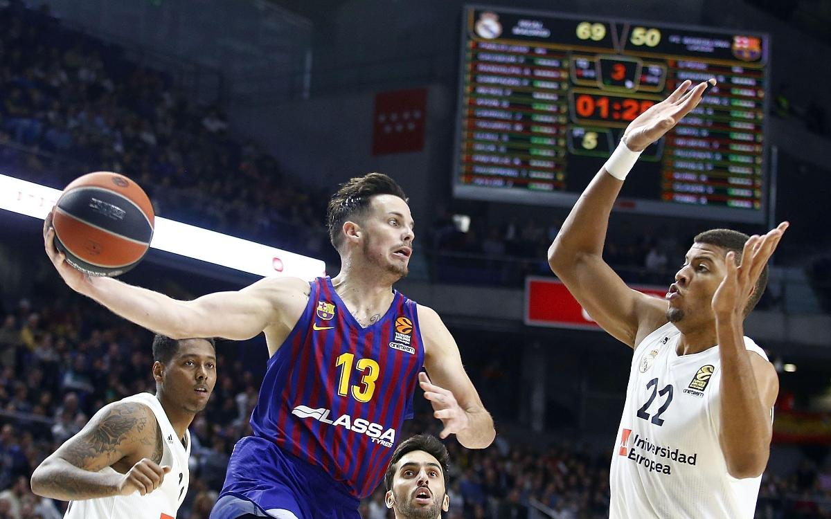 Real Madrid 92-65 Barça Lassa: Beaten by effectiveness