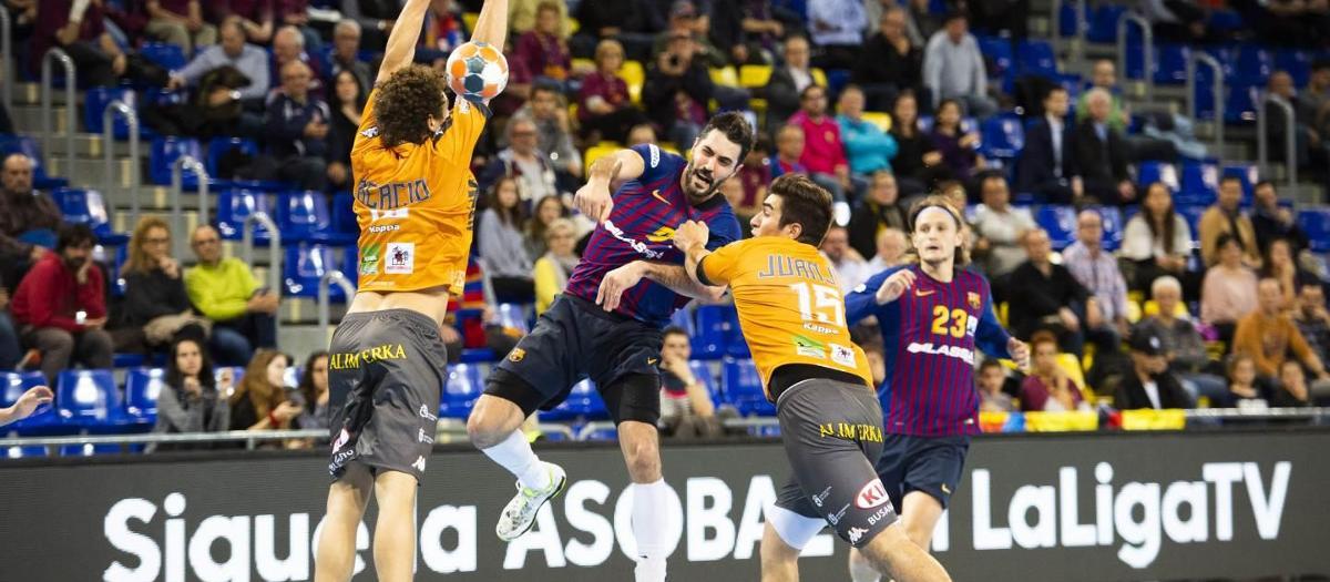 El Ademar León, primer rival en la Copa Asobal