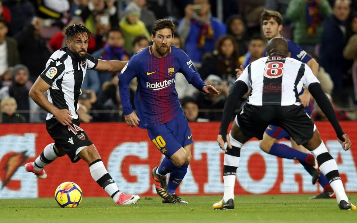 Levante, Barça's opponent in the Copa del Rey Round of 16
