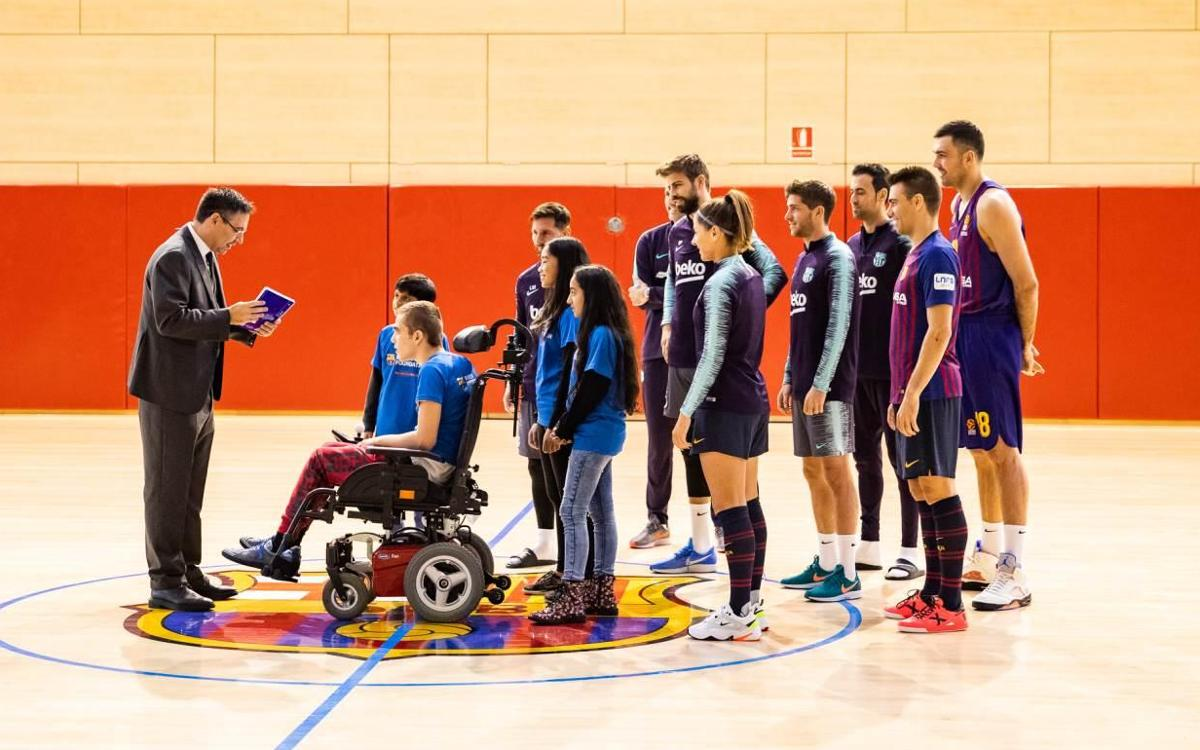Barça launch 'A Christmas To Change It All'