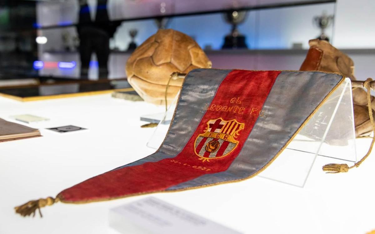 El Barça recupera el único recuerdo de la Liga del 37