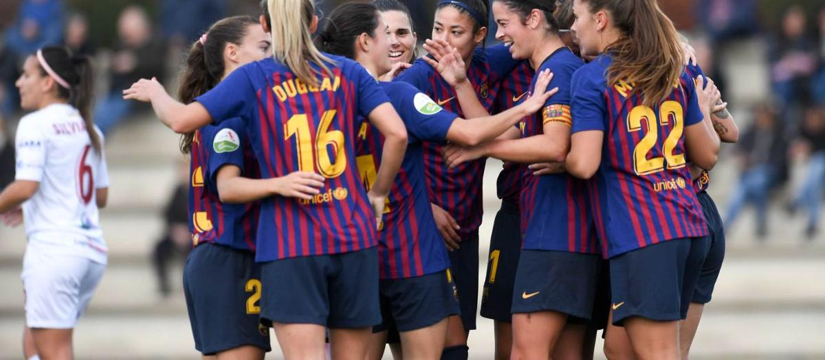 Barça Women 2-0 EDF Logronyo: Hard-working victory