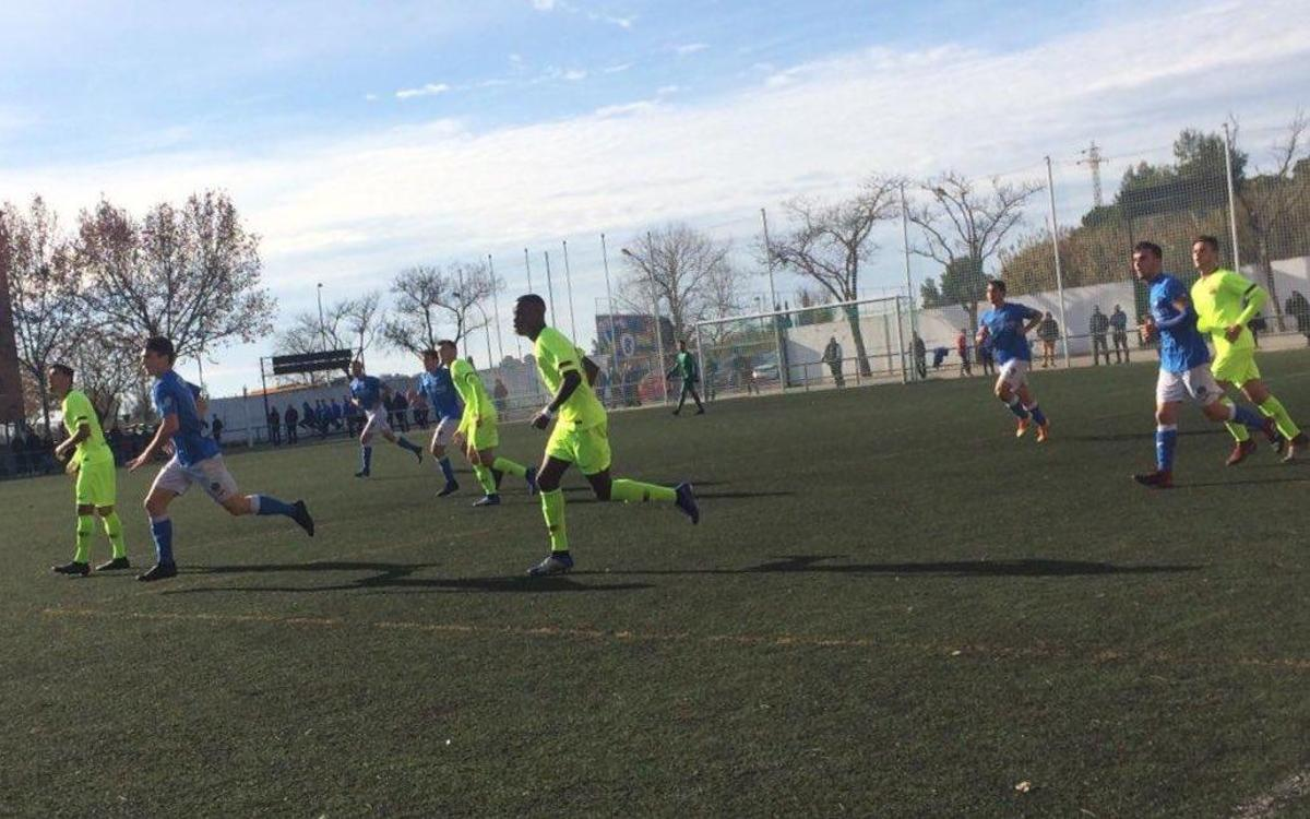 Lleida Esportiu – Juvenil A: Derrota por la mínima (1-0)
