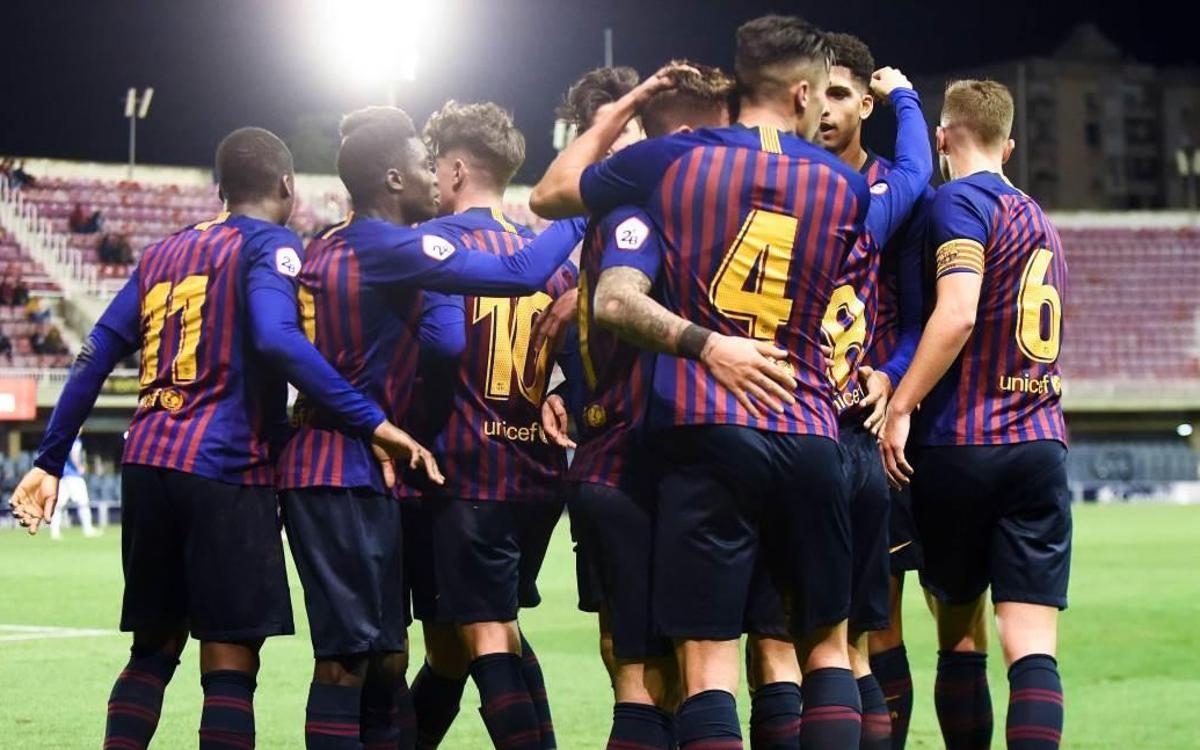 Barça B – Lleida Esportiu: Victoria contra el líder (2-1)