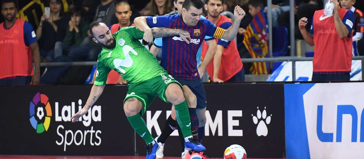 Barça Lassa 4-4 Inter Movistar: Thrilling draw