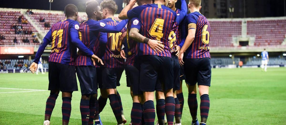 Barça B 2-1 Lleida Esportiu: Victory against the leader