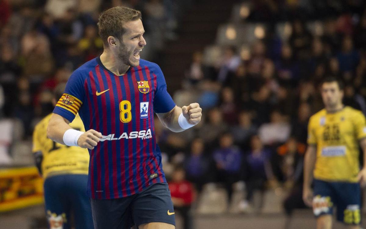 Bidasoa Irún – Barça Lassa: ¡Campeones de la Copa Asobal! (23-37)