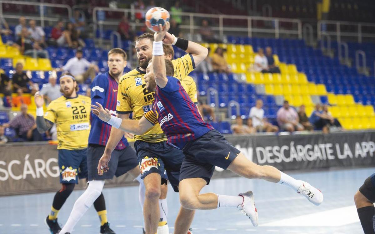 Bidasoa Irún – Barça Lassa: Último esfuerzo con el título en juego