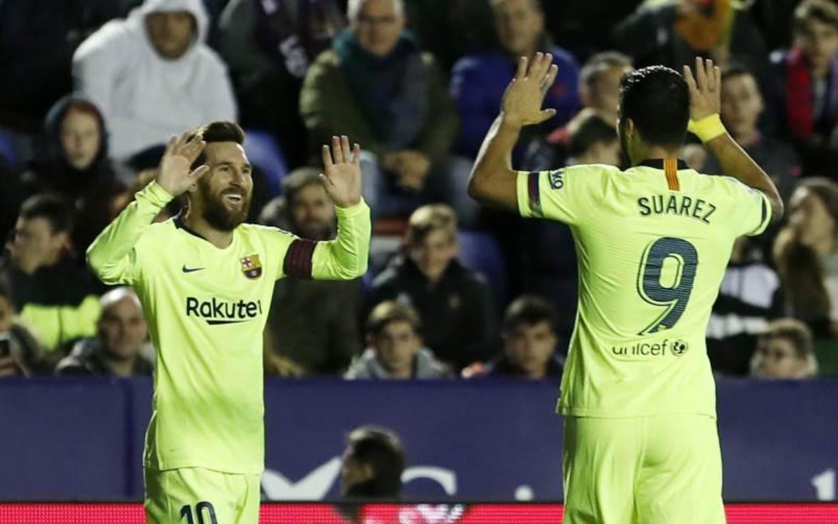 Un Barça letal (0-5)