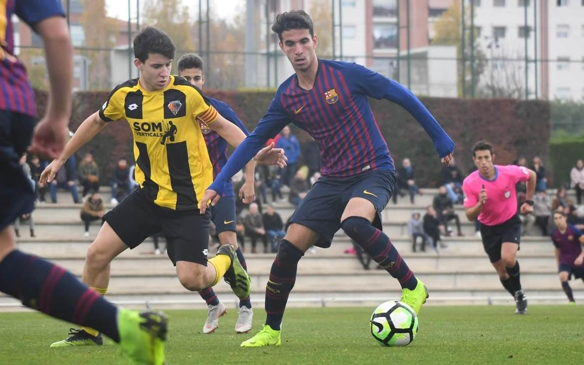 Juvenil B - Mataró: Victoria trabajada ante un rival complicado (4-1)