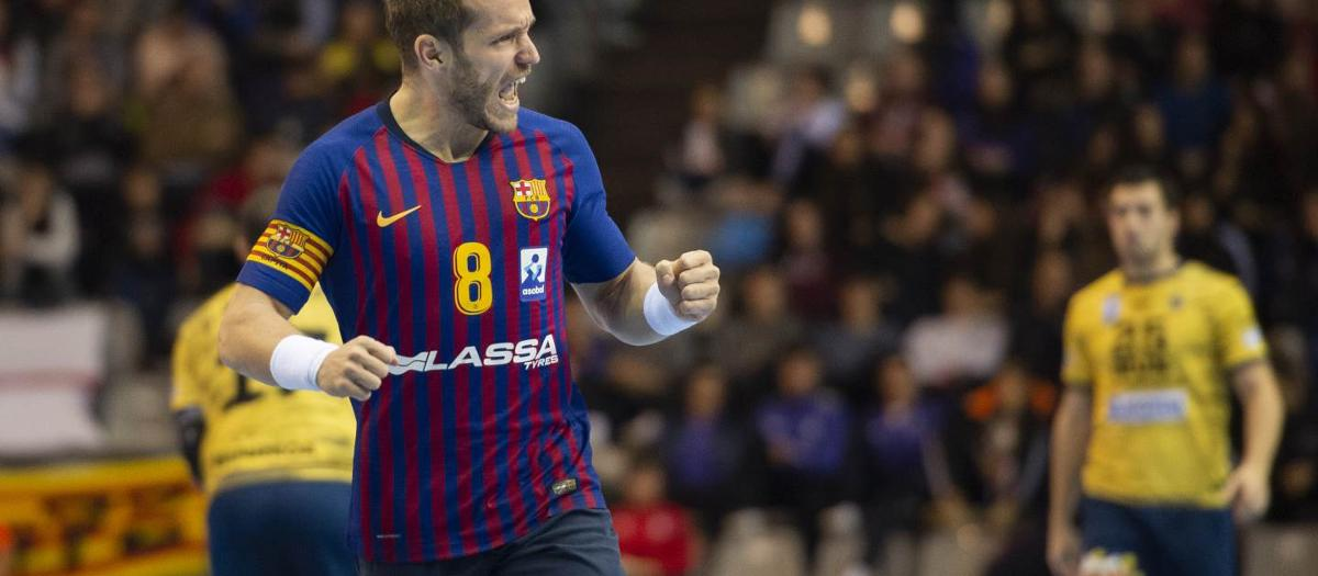 Bidasoa Irún – Barça Lassa: Asobal Cup champions! (23-37)