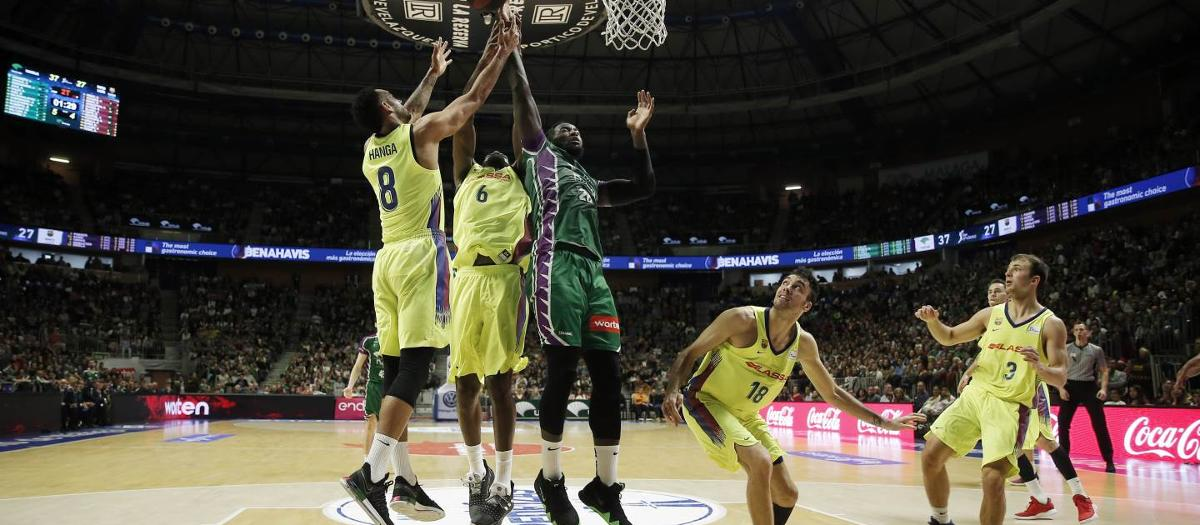 Unicaja Málaga – Barça Lassa: Second league defeat (78-73)