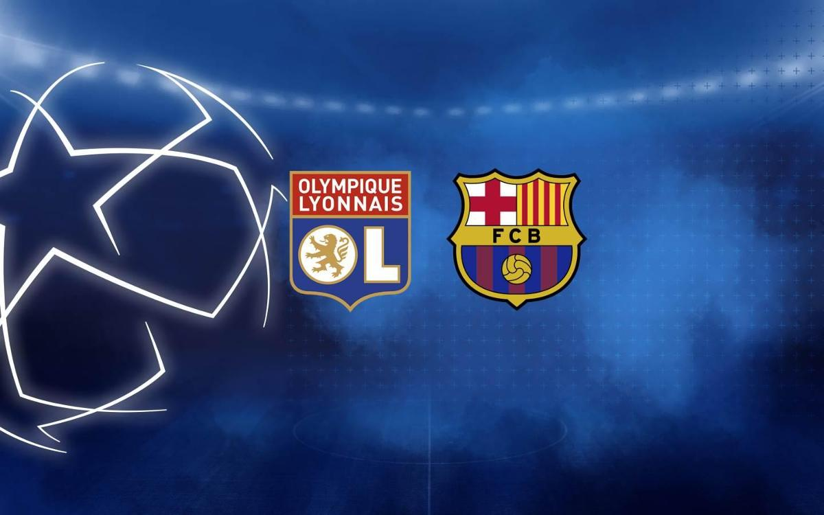 Barça to face Lyon in the last 16
