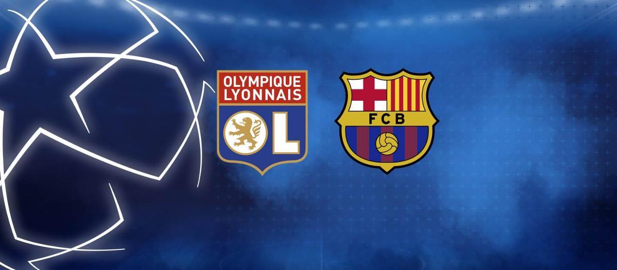 Lyon - Barça en 8èmes de finale