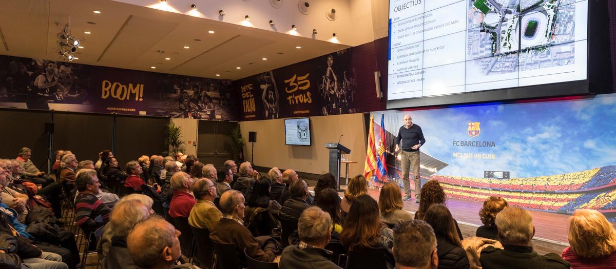 L'Agrupació Barça Jugadors tindrà presència a l'Espai Barça