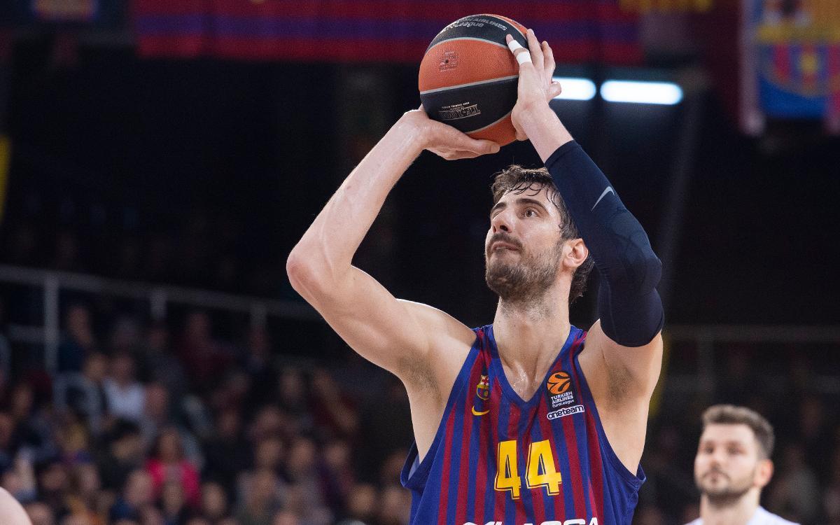 Barça Lassa - Olympiacos: Con el reto de hacerse fuertes en el Palau