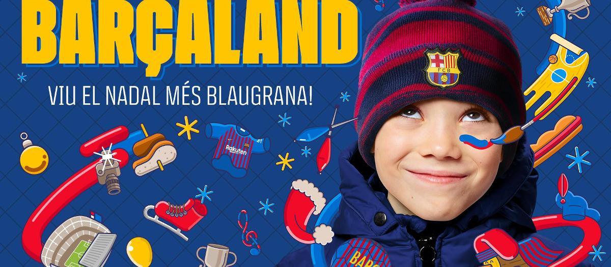 Enjoy an FC Barcelona Xmas experience at Barçaland
