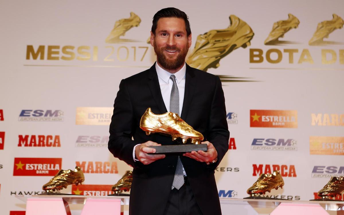 الأسطورة ميسي يُتوّج للمرة الخامسة بجائزة الحذاء الذهبي Mini_2018-12-18-MESSI-BOTA-DE-ORO-120