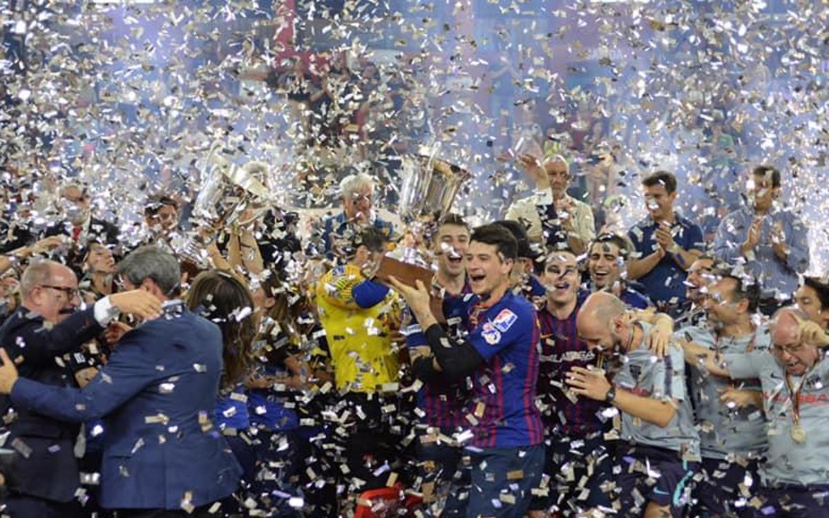 Porto 4-5 Barça Lassa: Intercontinental champions!
