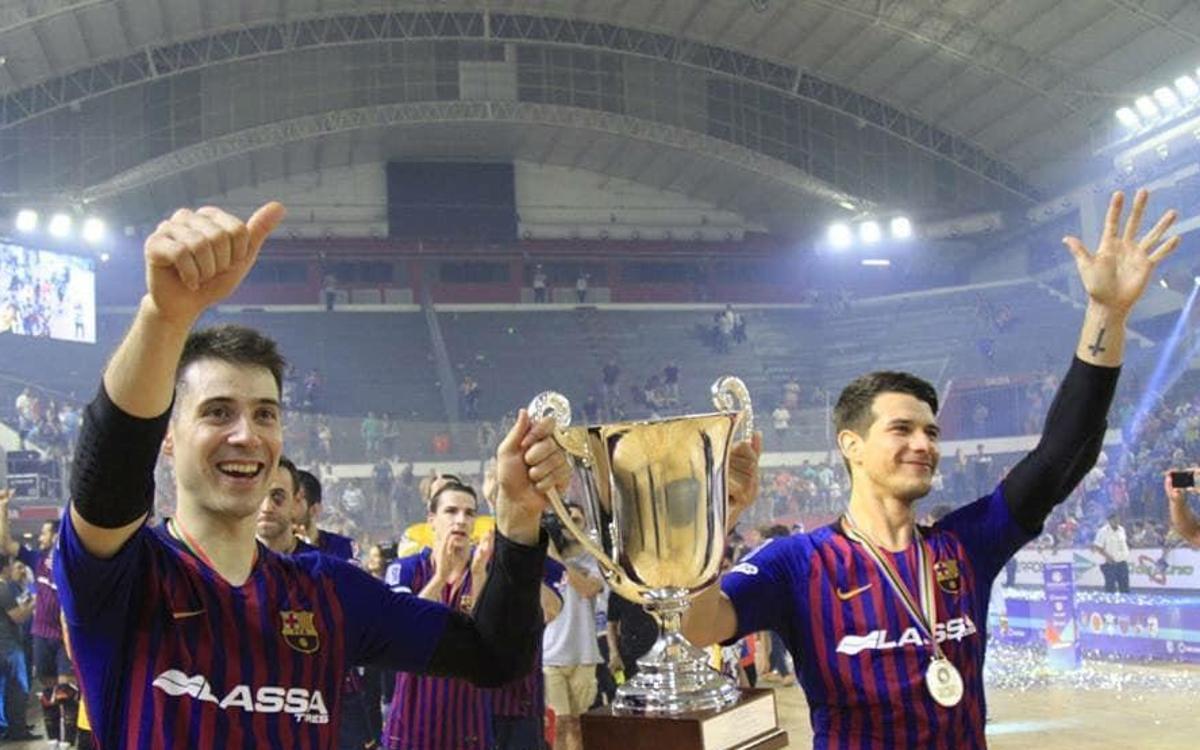 La quinta Intercontinental para un Barça Lassa admirado