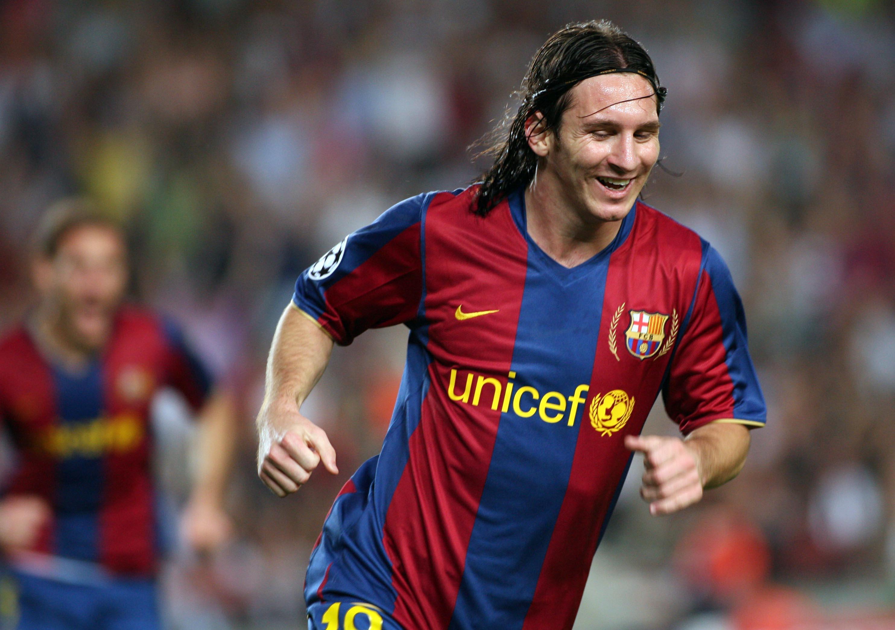 Fc Barcelona 3 Olympique Lyonnais 0 20072008 Full Match