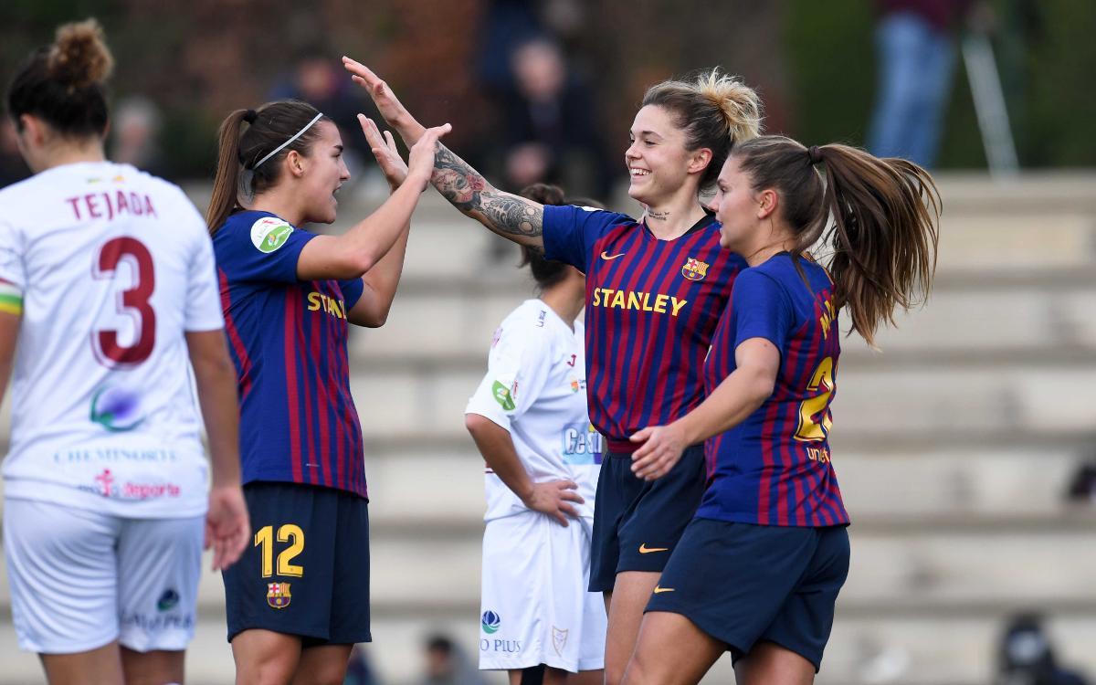 Màlaga CF – FC Barcelona Femení (prèvia): Final de volta i d'any a Màlaga