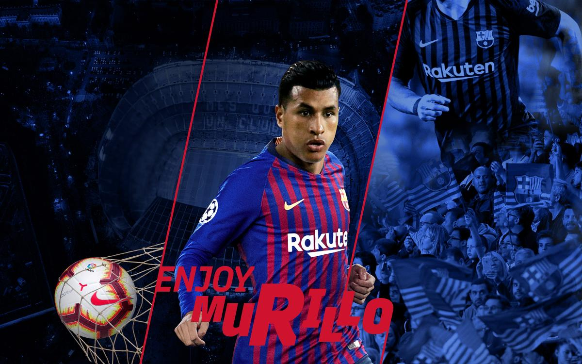 Jeison Murillo, new FC Barcelona player