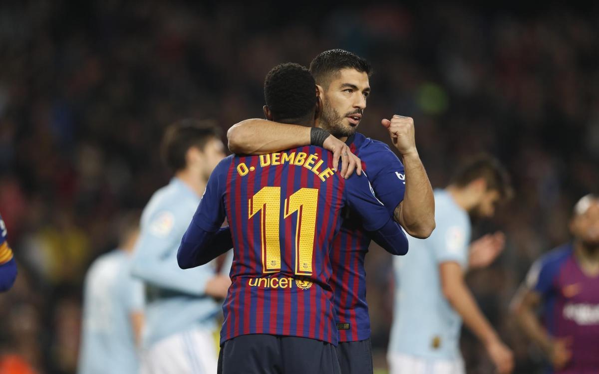 صور مباراة : برشلونة - سيلتا فيغو 2-0 ( 22-12-2018 )  Mini__12I3813