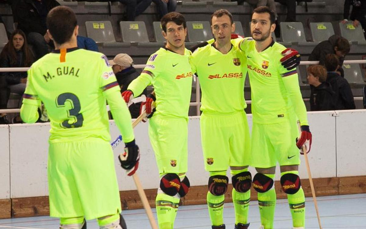 Reus Deportiu – Barça Lassa: Victory slips away at the end (4-4)