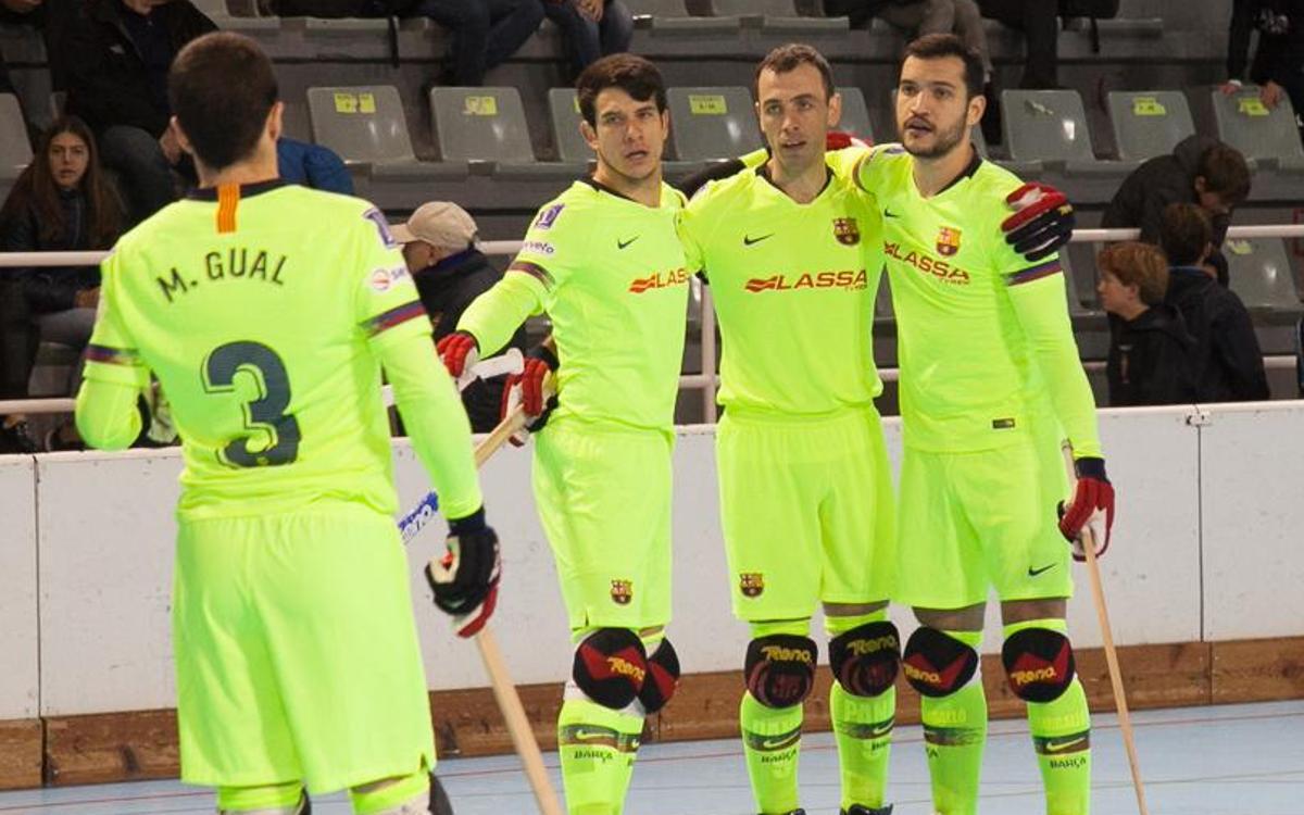 Reus Deportiu - Barça Lassa: Se escapa el triunfo en los instantes finales (4-4)