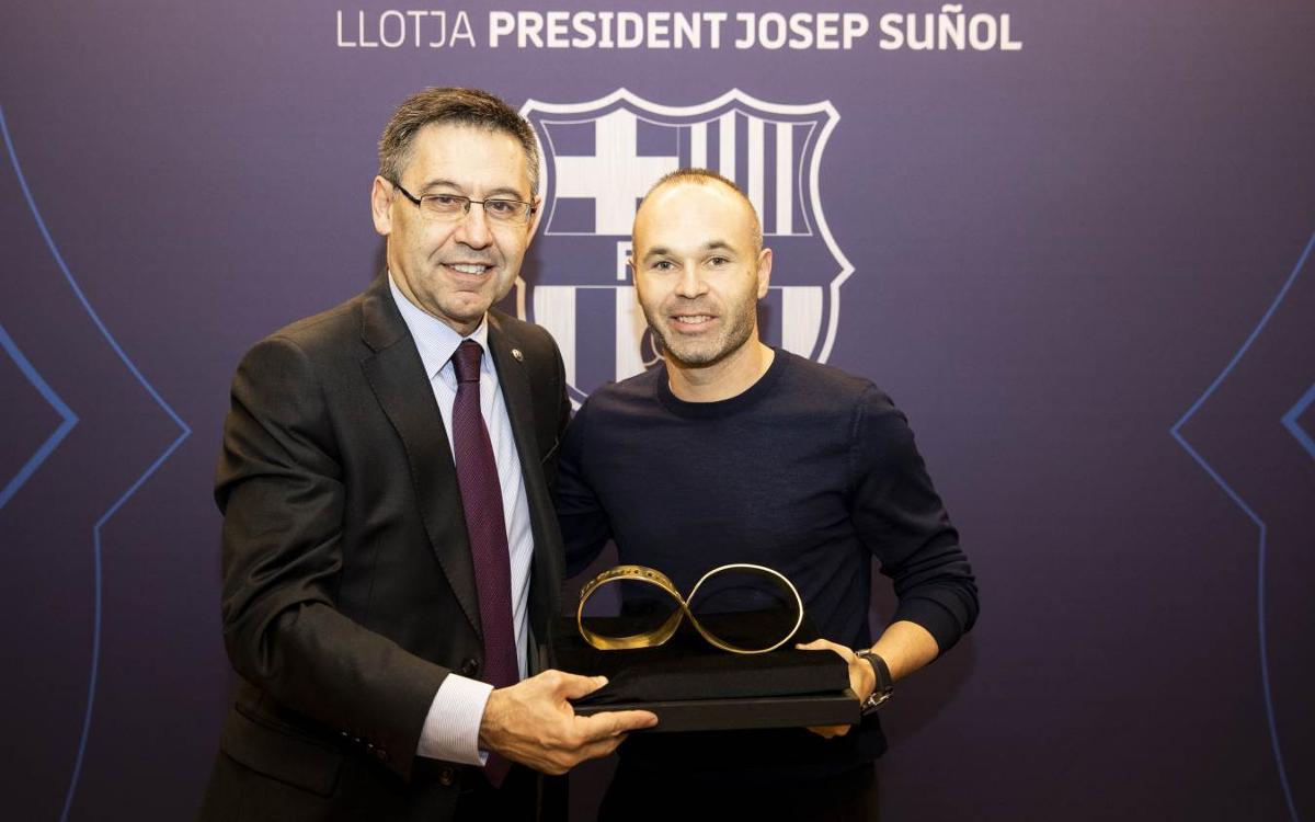 Andrés Iniesta, invité de luxe de Barça - Celta