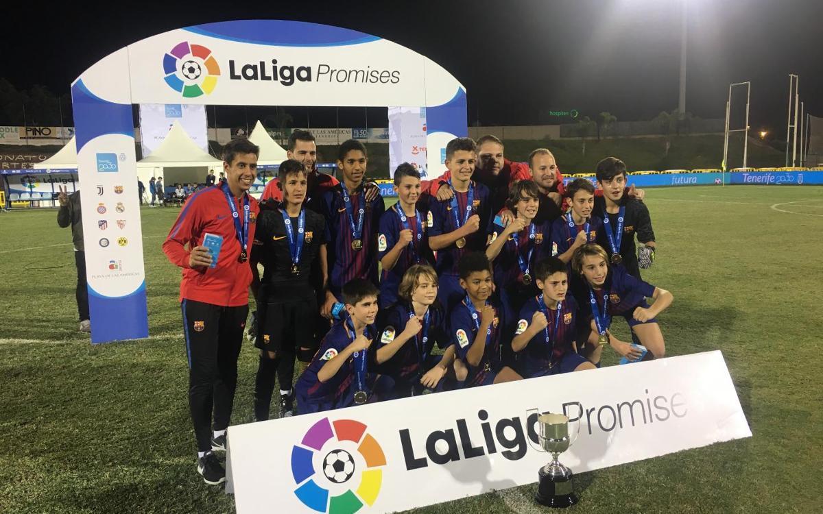 El Barça defensa el títol a LaLiga Promises Internacional
