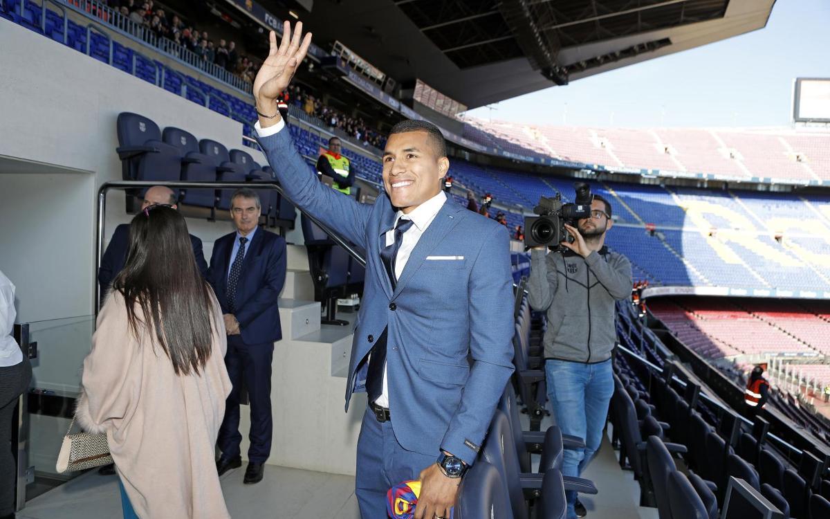 تقديم جيسون موريللو لاعب جديد في صفوف نادي برشلونة Mini_2018-12-27-MURILLO-107
