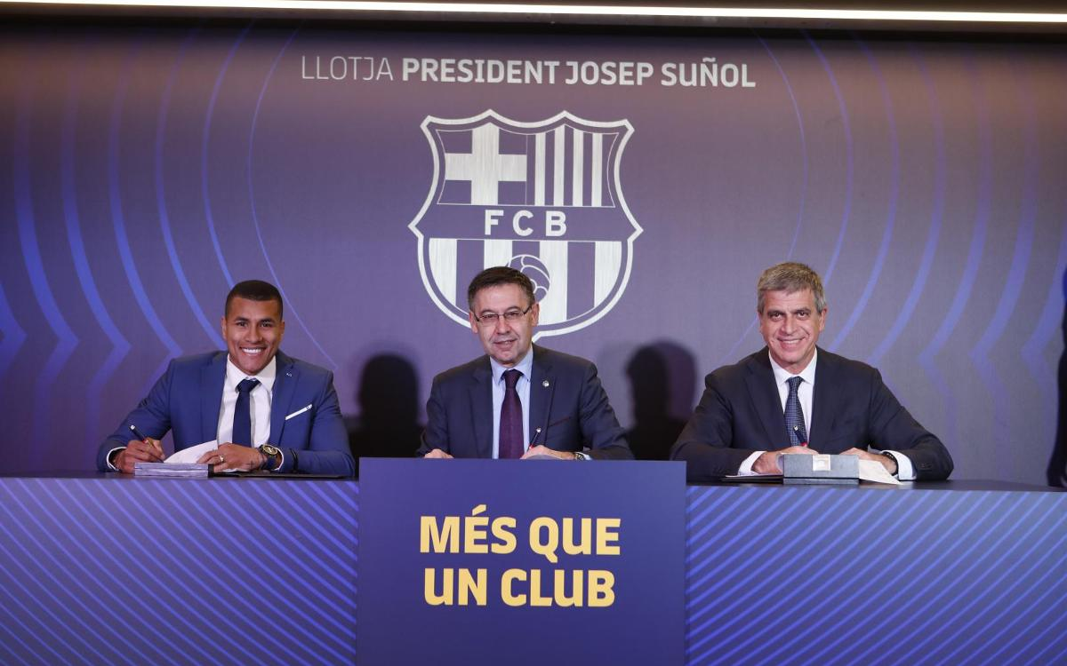 Jeison Murillo's presentation, as it happened!