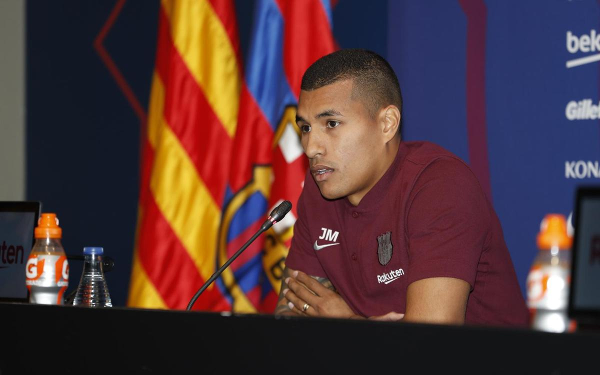 Murillo: 'It's a plus to be at the best club in the world'