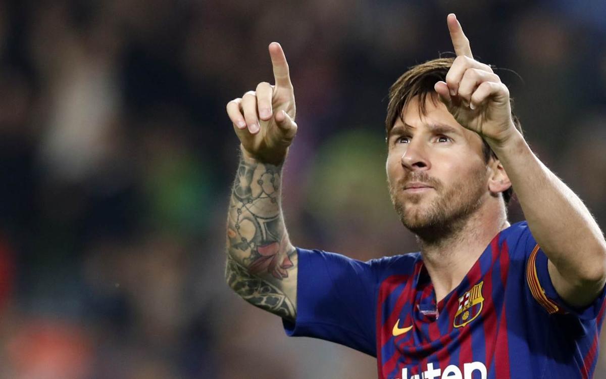 Lionel Messi, meilleur buteur en 2018