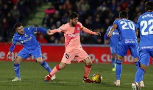 Getafe 1 Fc Barcelona 2 Full Match