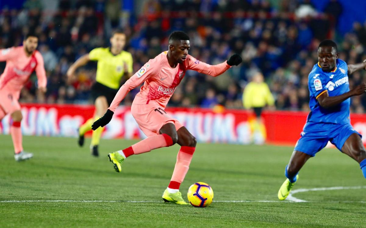 صور مباراة : خيتافي - برشلونة 1-2 ( 06-01-2019 ) Dembele-Getafe-1