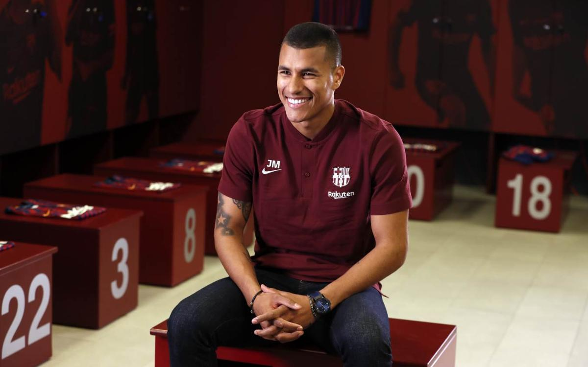 Jeison Murillo: 'I want to show why I was chosen to join the club'