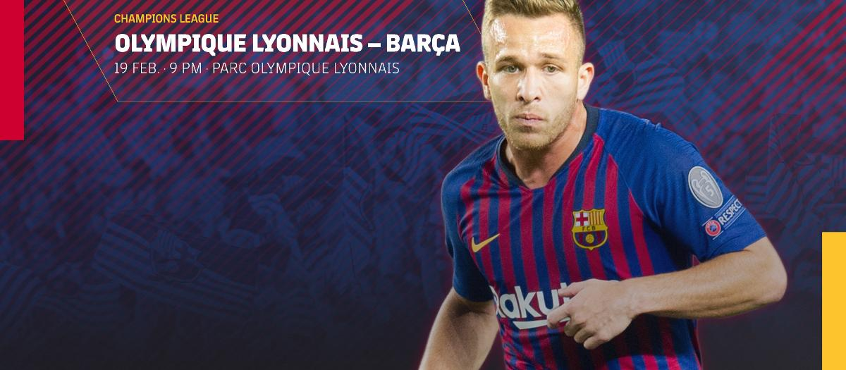 Tickets on sale for Lyon v Barça
