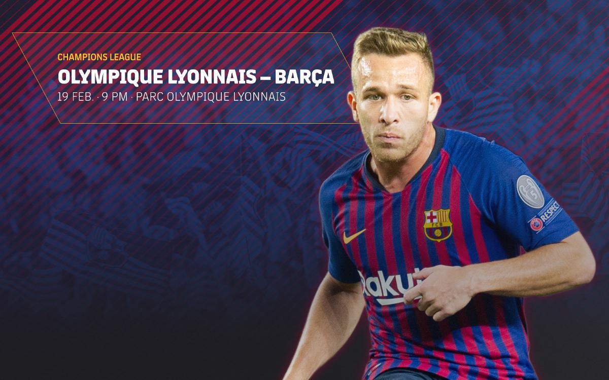 Tickets on sale for Lyon v Barça