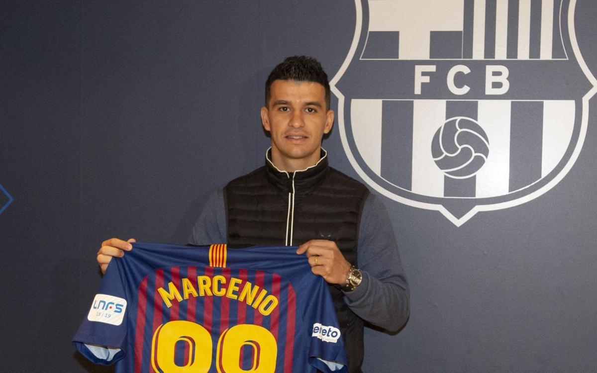 """Marcenio: """"Vull fer història al FC Barcelona"""""""