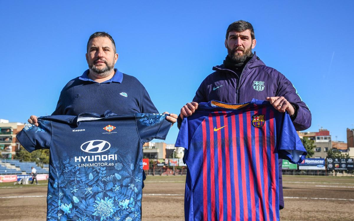 El Barça visita el Baldiri, en el derbi más igualado de los últimos años