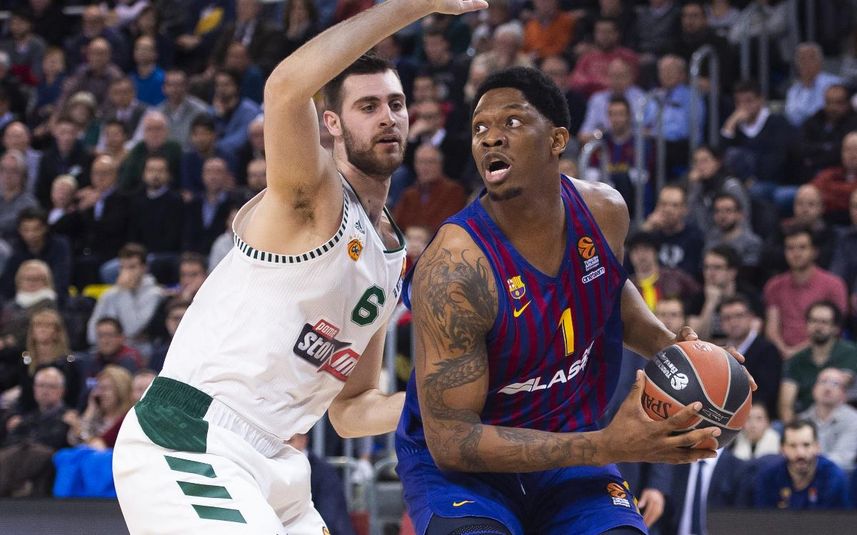 Barça Lassa 79-68 Panathinaikos: A win based on defence