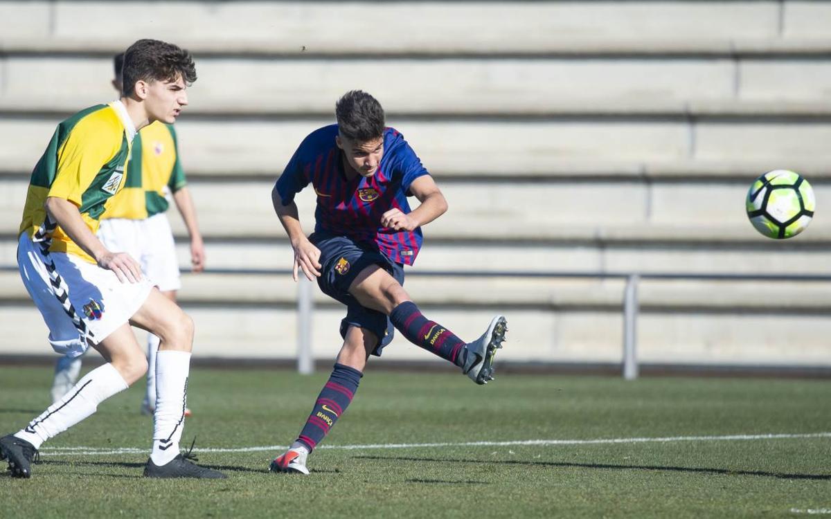 Juvenil B - Mercantil: Sin suerte en la definición (0-0)