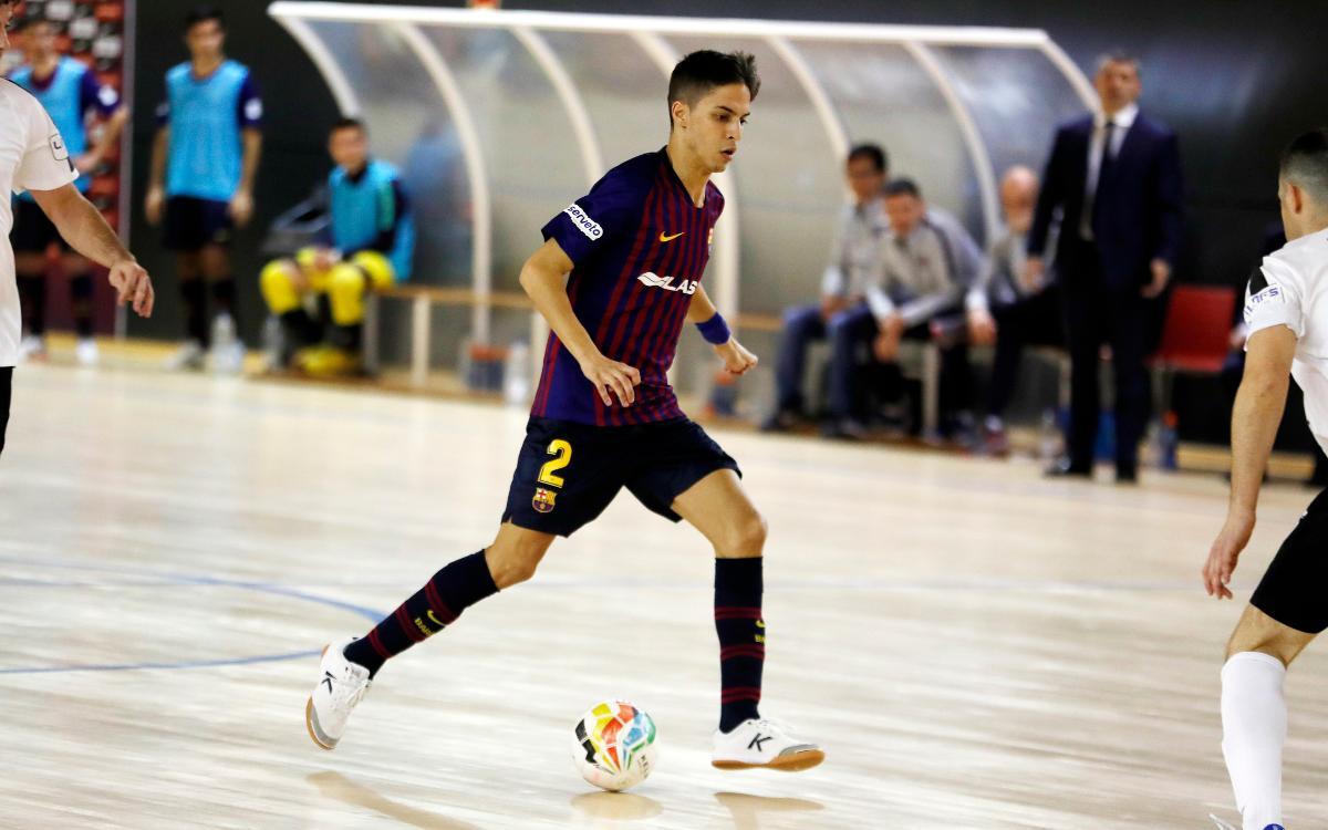 Barça Lassa B - Manzanares FS (3-4): Derrota injusta