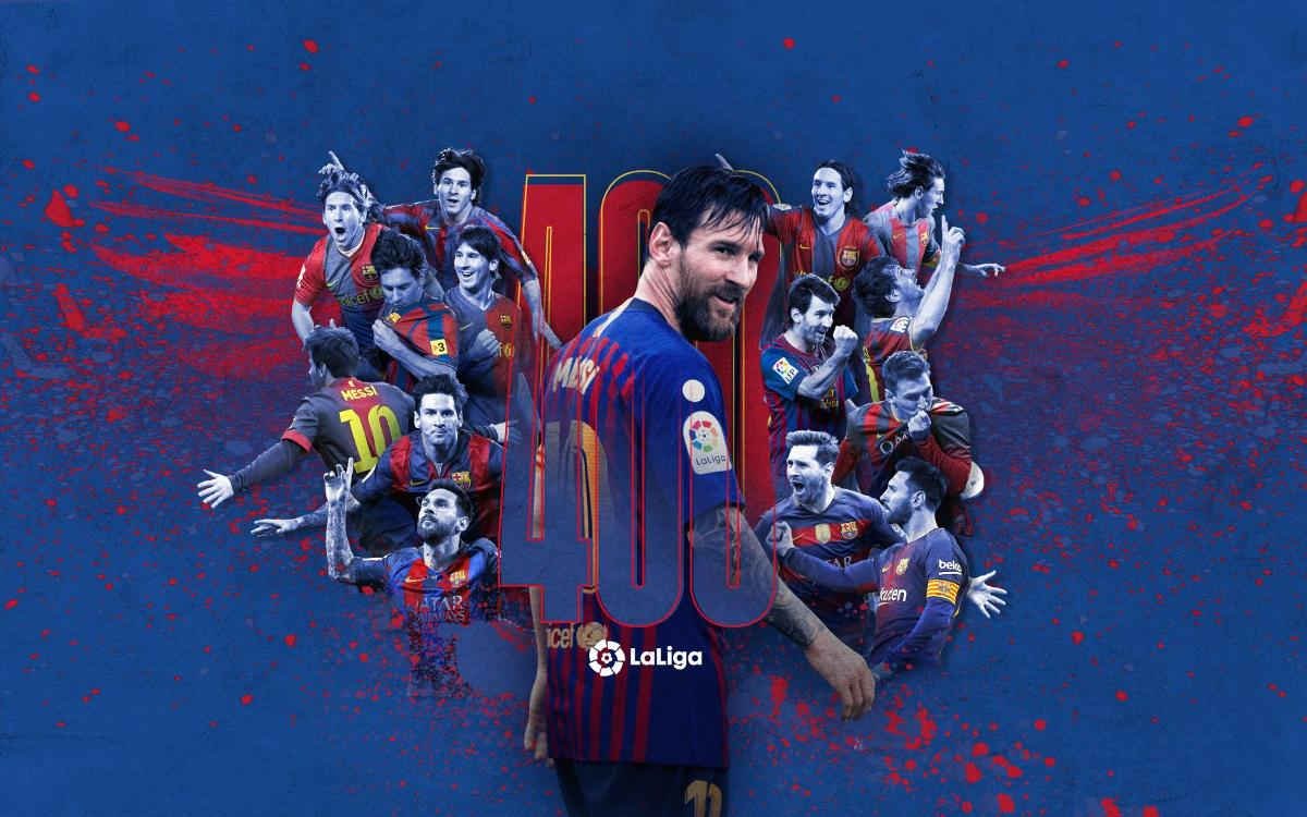 Messi inscrit son 400ème but en Liga