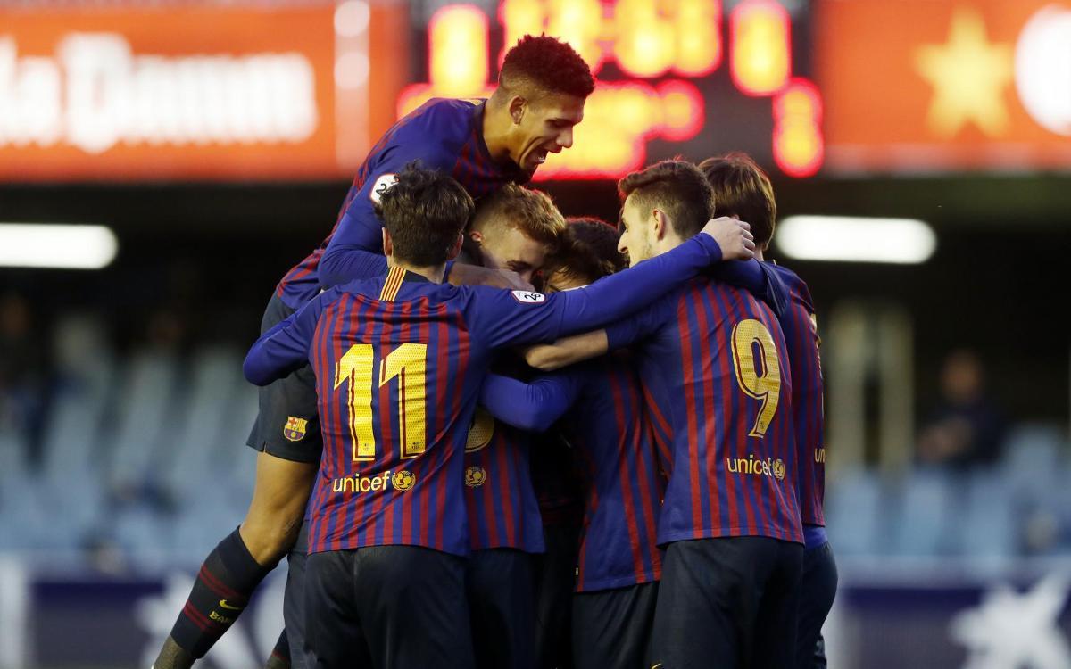 Barça B - CD Alcoyano: ¡Primera victoria del año! (2-0)